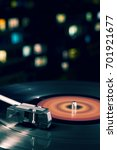 turntable vinyl record player... | Shutterstock . vector #701921677