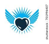 heart graphic illustration ...   Shutterstock . vector #701996407