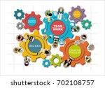 flat design illustration...   Shutterstock .eps vector #702108757