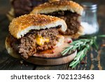 Big Burger With Cheddar Cheese