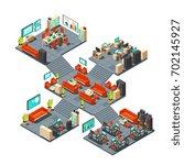 corporate professional 3d... | Shutterstock .eps vector #702145927