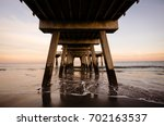 Under The Tybee Island Pier In...