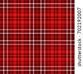 seamless tartan plaid pattern... | Shutterstock .eps vector #702192007