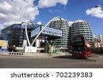london  england  9 may 2015 ... | Shutterstock . vector #702239383