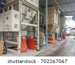 dust control system in...   Shutterstock . vector #702267067