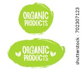 organic natural product icon... | Shutterstock .eps vector #702307123
