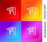 driller four color gradient app ...