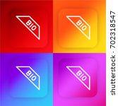 bio four color gradient app...