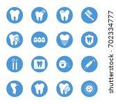 dental care  teeth  circular... | Shutterstock .eps vector #702334777