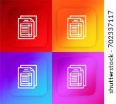 tax four color gradient app...