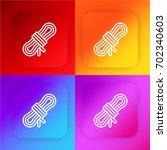 rope four color gradient app...