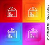 warehouse four color gradient...