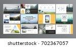original presentation templates.... | Shutterstock .eps vector #702367057