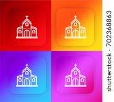 church four color gradient app...