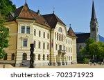 vaduz  liechtenstein  17 aug... | Shutterstock . vector #702371923