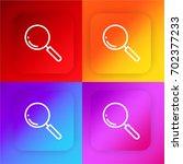 loupe four color gradient app...