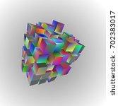 raster version. 3d illustration ...   Shutterstock . vector #702383017