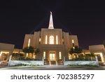 gilbert  arizona  usa   august... | Shutterstock . vector #702385297