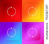 reload four color gradient app...