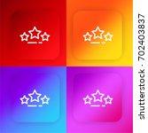 rating four color gradient app...