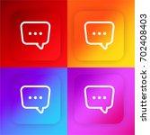 dialogue four color gradient...
