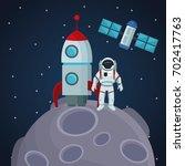 color space landscape... | Shutterstock .eps vector #702417763