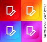 register four color gradient...