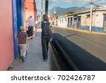oaxaca  mexico   january 13 ... | Shutterstock . vector #702426787