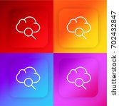 cloud computing four color...