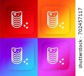 chips four color gradient app...