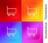 cart four color gradient app...