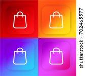 shopping bag four color...