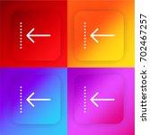previous four color gradient... | Shutterstock .eps vector #702467257