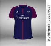 football kit of paris saint... | Shutterstock .eps vector #702479137