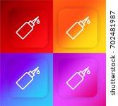 oil four color gradient app...