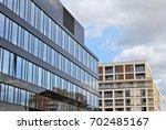 modern office building | Shutterstock . vector #702485167