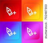 add point four color gradient...