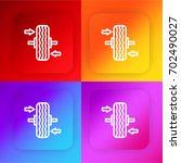 balancing four color gradient...