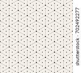vector seamless pattern. modern ... | Shutterstock .eps vector #702492277