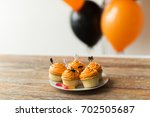 food  baking and holidays... | Shutterstock . vector #702505687