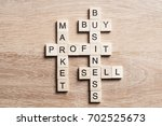 words of business marketing... | Shutterstock . vector #702525673