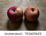 Apples. Withered Apples.