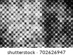 grunge halftone black and white.... | Shutterstock . vector #702626947