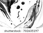 black and white abstract... | Shutterstock . vector #702635197