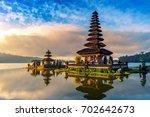 pura ulun danu bratan temple in ...   Shutterstock . vector #702642673