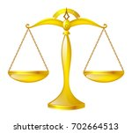 golden glossy scales  scales of ... | Shutterstock .eps vector #702664513