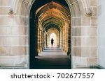 the path of melbourne university | Shutterstock . vector #702677557