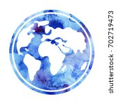 earth day. day of peace.... | Shutterstock . vector #702719473