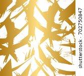 golden and white seamless... | Shutterstock .eps vector #702750847