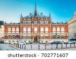 helsinki  finland. finnish... | Shutterstock . vector #702771607